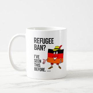 Refugee ban - We've seen this before - Coffee Mug