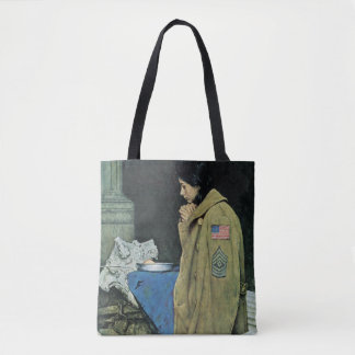 Refugee Thanksgiving Tote Bag