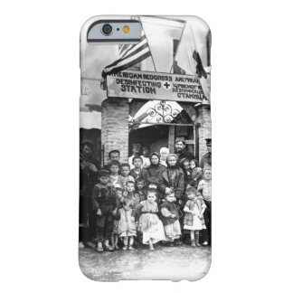 Refugees of Serbia entering Uskut _War Image Barely There iPhone 6 Case