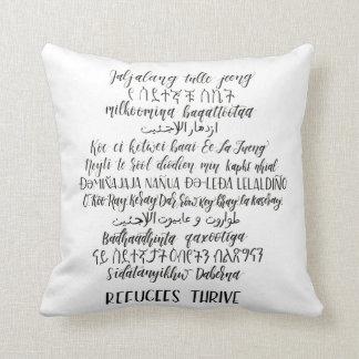 Refugees Thrive Decorative Pillow