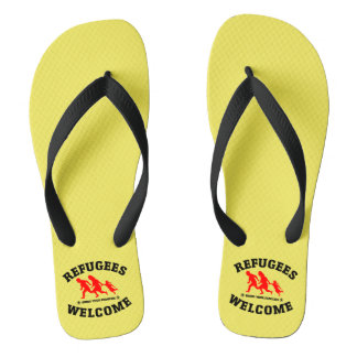 Refugees Welcome Bring Your Families Thongs
