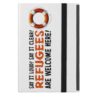 Refugees Welcome iPad Case