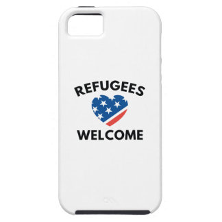 Refugees Welcome iPhone 5 Case