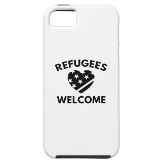 Refugees Welcome iPhone 5 Cover