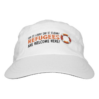Refugees Welcome Performance Hat