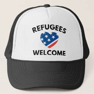 Refugees Welcome Trucker Hat