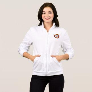 Refugees Welcome Women's Fleece Zip Jog Jacket
