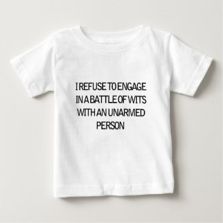 refuse to engage baby T-Shirt