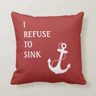 Refuse To Sink Cushion