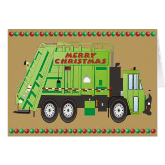 Refuse Truck Card