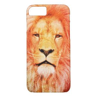 Regal Colourized Lion iPhone 7 Case