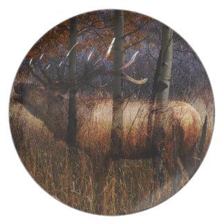Regal Elk Plate