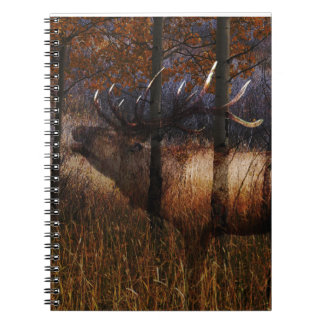 Regal Elk Spiral Notebook