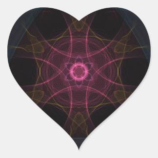 Regal Geek Heart Sticker