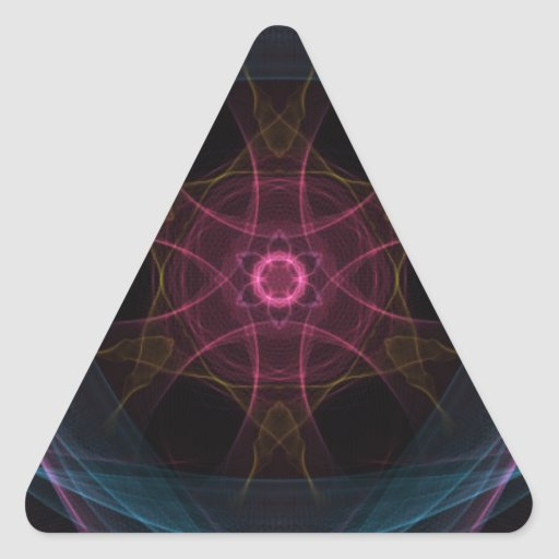 Regal Geek Triangle Sticker