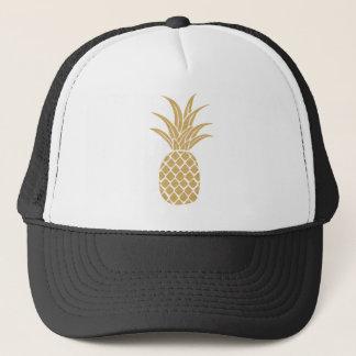 Regal Gold Pineapple Trucker Hat