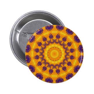 Regal Kaleidoscope Pinback Button
