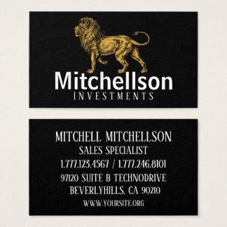 Regal Lion Business Card