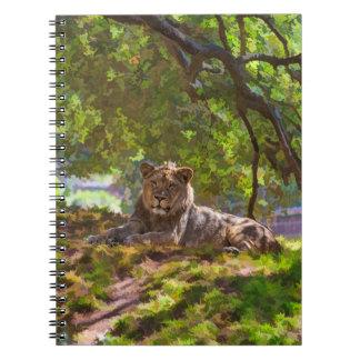 REGAL LION NOTEBOOK