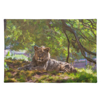 REGAL LION PLACEMAT