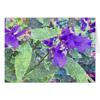 Regal Purples Greeting Card