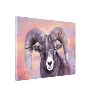 Regal Ram Canvas Print