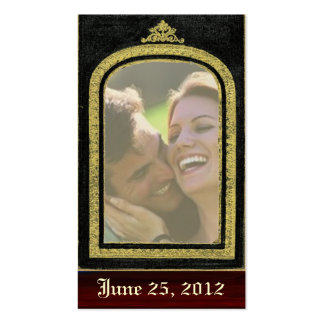 Regal ~ Save The Date Cards Photo Insert Business Card