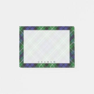 Regal Scottish Clan Graham Tartan Post-it Notes