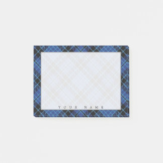 Regal Scottish Clergy Tartan Post-it Notes
