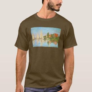 Regatta at Argenteuil by Claude Monet T-Shirt