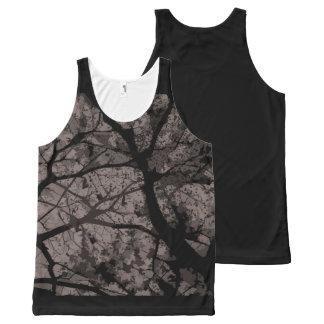 Regatta Camouflage (Grey version) Unissex All-Over Print Singlet