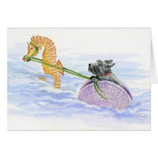 Regatta Pond Pony Chariot with Scottie Card