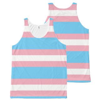Regatta - Transgênero Transexual DragQueen All-Over Print Singlet