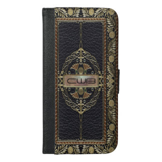Regencatio Shade 6/6s Plus Old Book Style iPhone 6/6s Plus Wallet Case