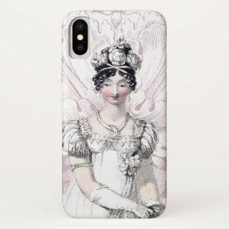 Regency Bride Jane Austen iPhone X Case