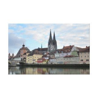 Regensburg, Germany Canvas Print