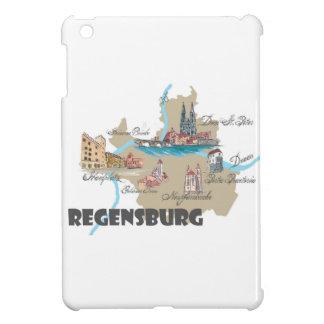 Regensburg Germany map iPad Mini Cases