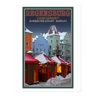 Regensburg Lucrezia Market Postcard