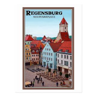 Regensburg - Neupfarrplatz Postcard
