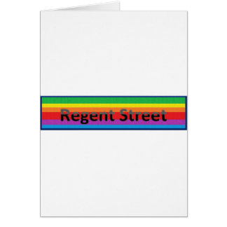 Regent Street Style 2 Greeting Card