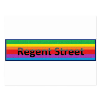 Regent Street Style 2 Postcard