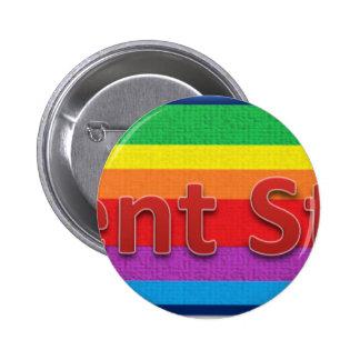 Regent Street Style 3 Pinback Button