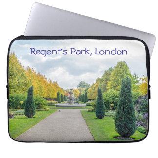 Regent's Park, London laptop sleeve