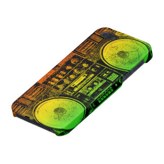 reggae boombox iPhone 5 cover