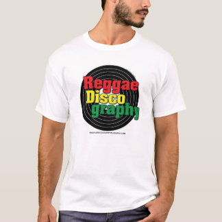 Reggae Discography Vinyl T-Shirt