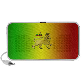 Reggae flag Reggae Music Portable Speakers