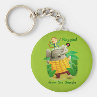 Reggae from The Jungle Key Chains