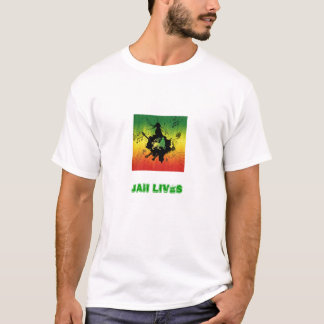 Reggae, Jah lives T-Shirt