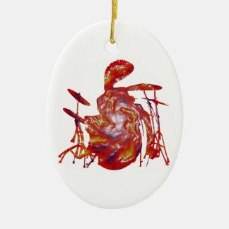 Reggae Junkanoo Ceramic Ornament