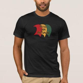 Reggae lion rastaman T-Shirt